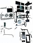набор для мотоблока в минитрактор