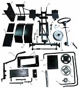 Комплект для переделки мотоблока